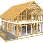Преимущества каркасного строительства